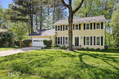 Roswell Single Family Home Under Contract: 150 Laurel Mill Ct