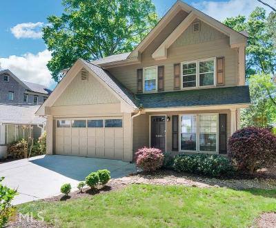 Atlanta Single Family Home New: 1199 Thornwell Dr