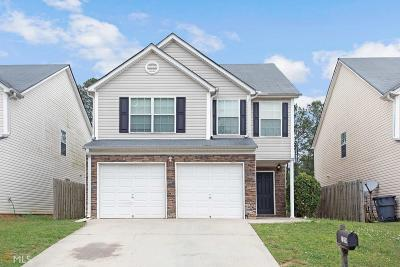 Clayton County Single Family Home Under Contract: 7539 Garnet Dr
