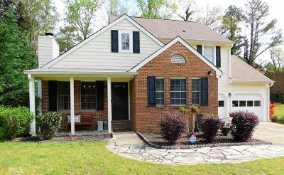 Smyrna Single Family Home Under Contract: 4020 Cooper Lake Ct