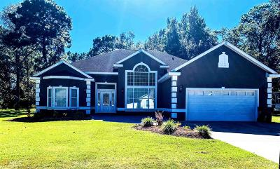 Camden County Single Family Home New: 124 Deerwood Village