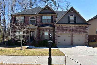 Covington Single Family Home New: 8196 Plantation Trce