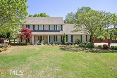 Roswell Single Family Home Under Contract: 530 Saddle Creek Cir