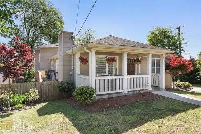 Atlanta Single Family Home New: 200 Cleveland St