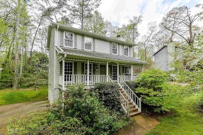 Marietta Single Family Home Under Contract: 4905 Hawk Trl