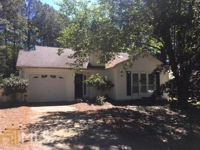 Peachtree City Single Family Home Under Contract: 201 Valley Vw