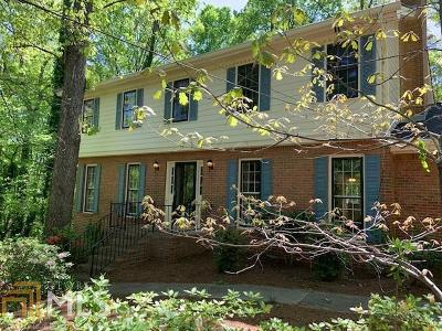 Stone Mountain Single Family Home New: 486 Hickory Hills Trl