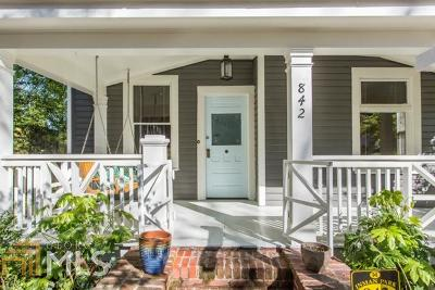 Atlanta Single Family Home New: 842 Virgil St