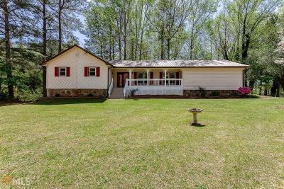 Douglasville Single Family Home New: 5332 Pamela Dr