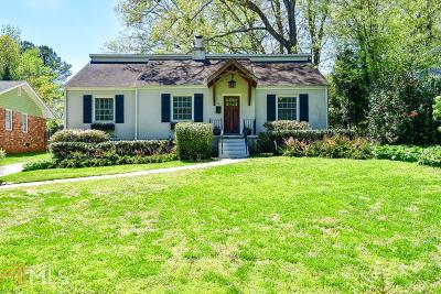 Avondale Estates Single Family Home Under Contract: 11 Wiltshire Dr