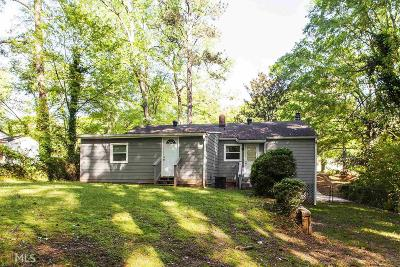 Decatur Single Family Home New: 3548 Orchard Circle