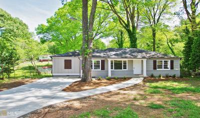 Mableton Single Family Home Under Contract: 5117 Poplar Pl