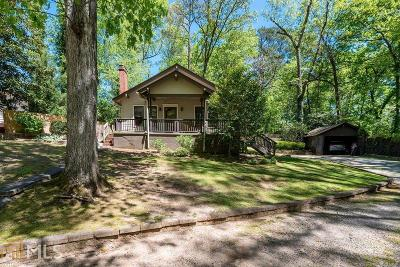 Historic Marietta Single Family Home Under Contract: 580 Chicasaw Dr