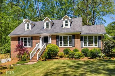 Marietta Single Family Home Under Contract: 1545 Redbud Trl