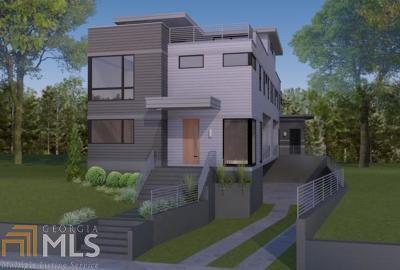Atlanta Single Family Home New: 528 Angier Ave #A