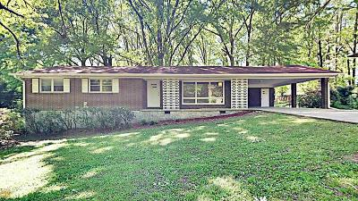 Clayton County Single Family Home Under Contract: 8387 Hilltop Rd