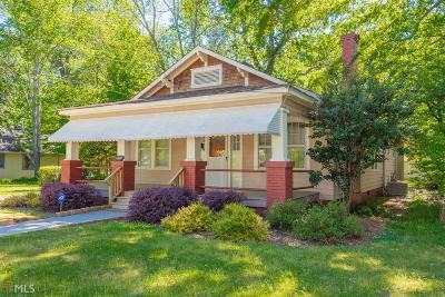 Hapeville Single Family Home New: 3354 N Whitney Ave