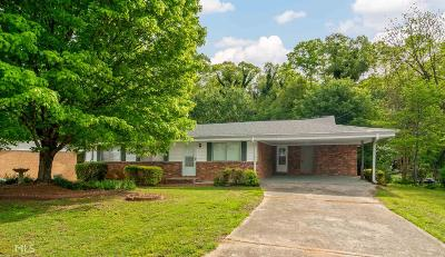 Clayton County Single Family Home Under Contract: 6388 Katie Ln