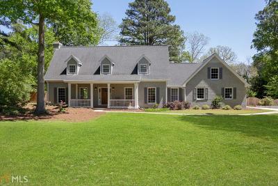 Snellville Single Family Home Under Contract: 2273 Valley Creek Cir