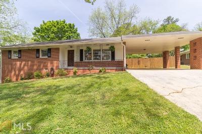 Atlanta Single Family Home New: 1678 Oak Ln