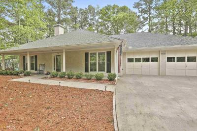 Peachtree City GA Single Family Home Under Contract: $289,500