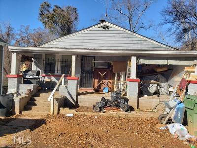 Atlanta Single Family Home New: 1881 Lakewood Avenue SE