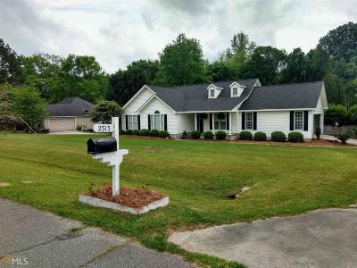 Statesboro Single Family Home New: 2513 Westover Dr