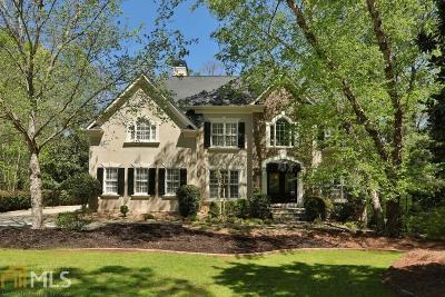 Alpharetta Single Family Home For Sale: 520 E Merroway Ct E