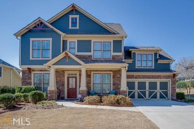 Flowery Branch Single Family Home New: 7355 Bird Song Pl