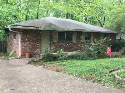 Clayton County Single Family Home New: 4530 Burks Rd