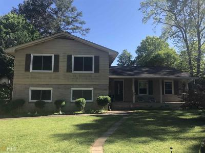 Rockdale County Single Family Home New: 1315 White Oak