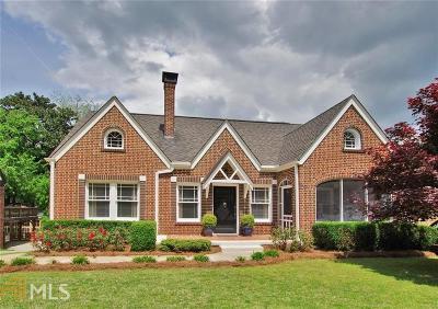 Fulton County Single Family Home New: 986 Courtenay Drive NE