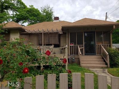 Atlanta Single Family Home New: 1315 Greenwich Street SW