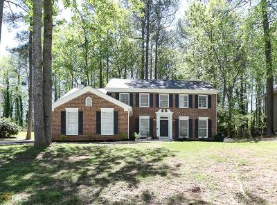 Marietta Single Family Home New: 1740 N Milford Creek Lane SW