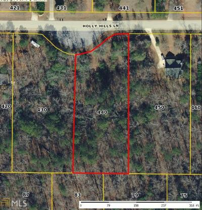 McDonough Residential Lots & Land For Sale: 440 Holly Hills Ln