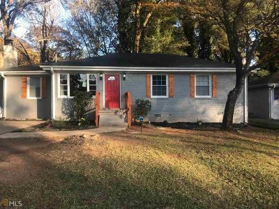 Atlanta Single Family Home Under Contract: 2928 Meadowview