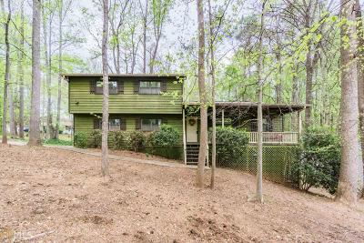Mableton Single Family Home Under Contract: 177 Settendown Trl