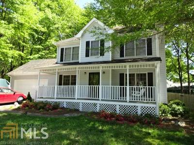 Loganville Single Family Home Under Contract: 490 Ashley Way