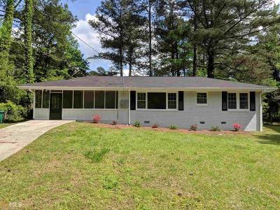 Atlanta Single Family Home New: 3032 Rollingwood Ln