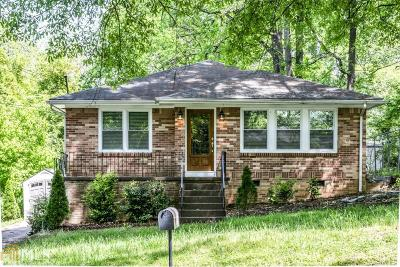 Hapeville Single Family Home New: 3220 Forrest Hills Dr