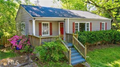 Atlanta Single Family Home New: 1109 Vista Trl