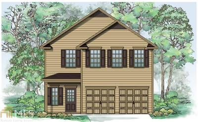 Fulton County Single Family Home New: 7244 Rudder Cir