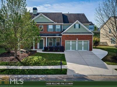 Braselton Single Family Home New: 1408 Kilchis Falls Way