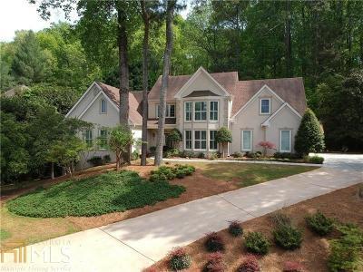 Alpharetta Single Family Home Under Contract: 3661 Schooner Ridge