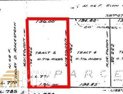 Cobb County Residential Lots & Land New: Old Tennessee Rd