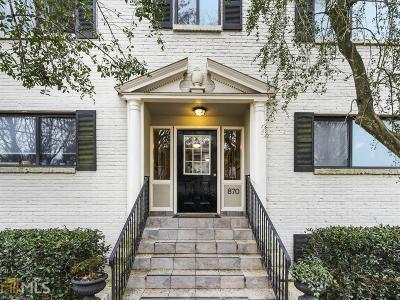 Atlanta Condo/Townhouse New: 870 Glendale Ter #11