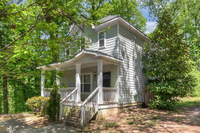 Atlanta Single Family Home Under Contract: 897 Ridge Ave