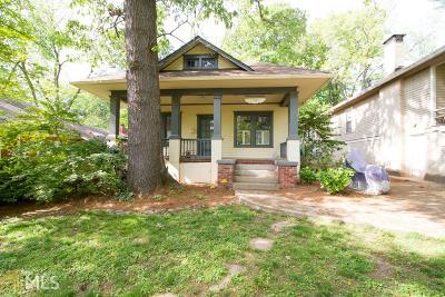 Atlanta Single Family Home New: 726 Delmar Ave