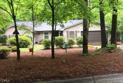 Peachtree City GA Single Family Home Under Contract: $285,000