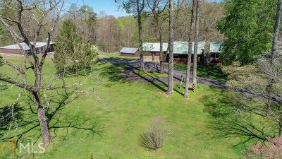 Fannin County, Gilmer County Single Family Home Under Contract: 4621 Clear Creek Rd
